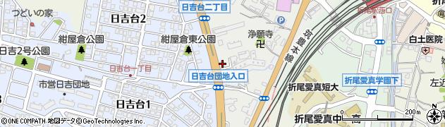 ピザーラ折尾店周辺の地図