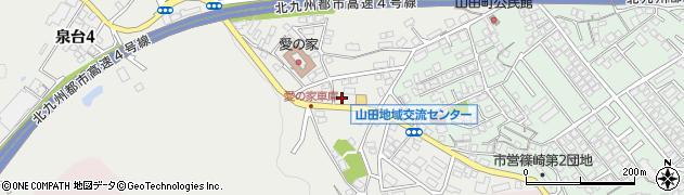 福岡県北九州市小倉北区高尾周辺の地図