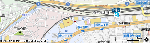 福岡県北九州市八幡西区桜ケ丘町周辺の地図