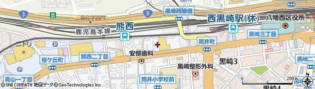 南国殖産株式会社 D・Dセルフ黒崎SS周辺の地図