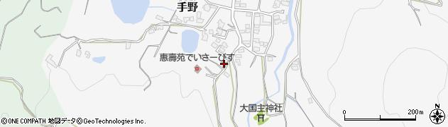 福岡県遠賀郡岡垣町手野1348周辺の地図