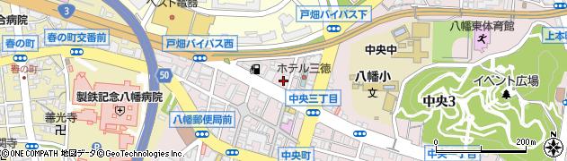 有限会社セントラル・タクシー周辺の地図