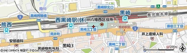 タリーズ コムシティ黒崎店周辺の地図