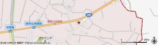 福岡県遠賀郡岡垣町糠塚周辺の地図