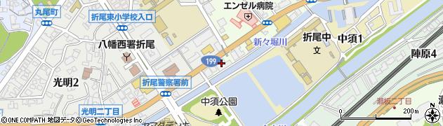 有限会社大和タクシー 配車センター周辺の地図