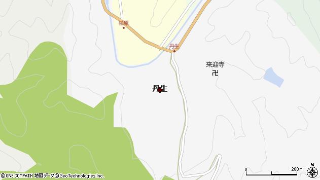 〒644-0217 和歌山県日高郡印南町丹生の地図