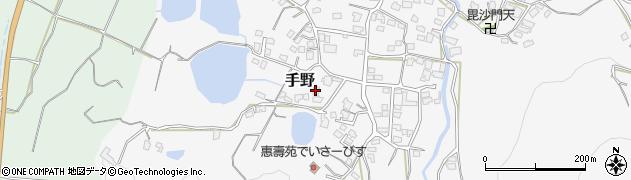 福岡県遠賀郡岡垣町手野1121周辺の地図