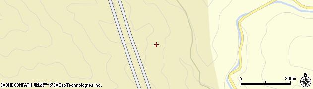 笹ケ峰トンネル周辺の地図
