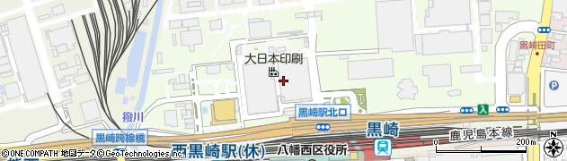 福岡県北九州市八幡西区黒崎城石周辺の地図