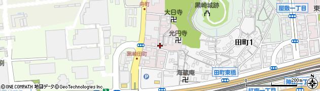 福岡県北九州市八幡西区舟町周辺の地図