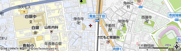 福岡ひびき信用金庫 夜間・休日のカード、通帳等紛失、盗難受付ダイヤル周辺の地図