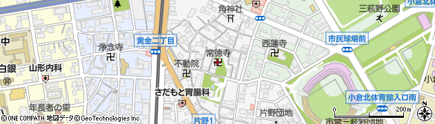 常徳寺周辺の地図