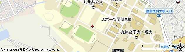 福岡県北九州市八幡西区自由ケ丘周辺の地図
