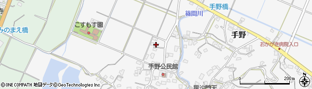 福岡県遠賀郡岡垣町手野429周辺の地図