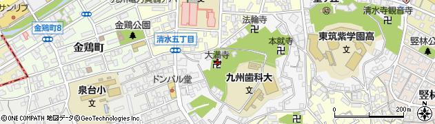 大満寺周辺の地図