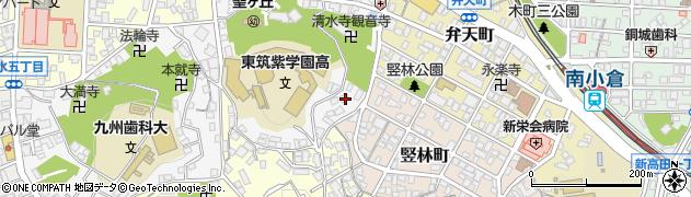 専門学校九州テクノカレッジ周辺の地図