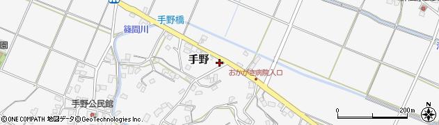 福岡県遠賀郡岡垣町手野495周辺の地図