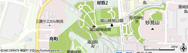 福岡県北九州市八幡西区屋敷周辺の地図