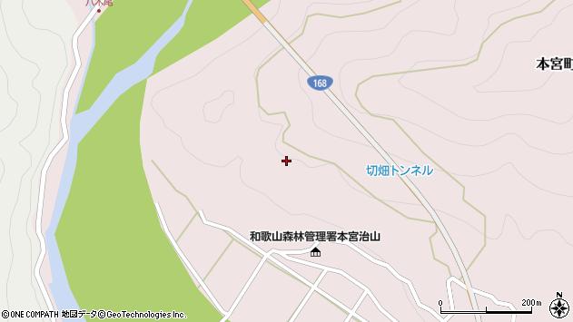 〒647-1752 和歌山県田辺市本宮町切畑の地図