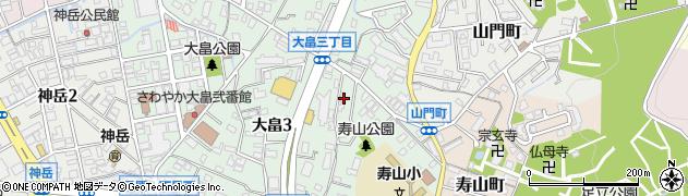 有限会社ラック周辺の地図
