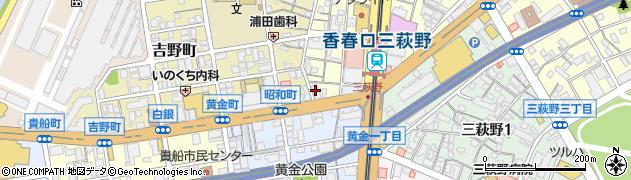 福岡県北九州市小倉北区香春口1丁目15-10周辺の地図