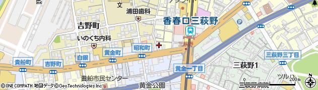 NHCグループ本社周辺の地図