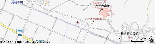 福岡県遠賀郡岡垣町手野152周辺の地図