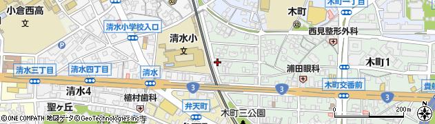 いぶき整骨院周辺の地図