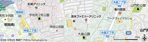 日本ホリスティックアカデミー周辺の地図