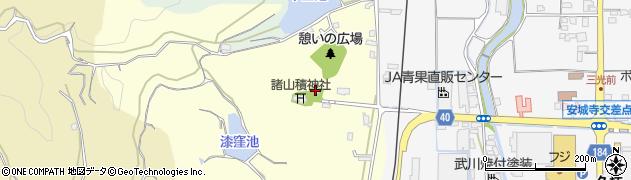 三光神社周辺の地図