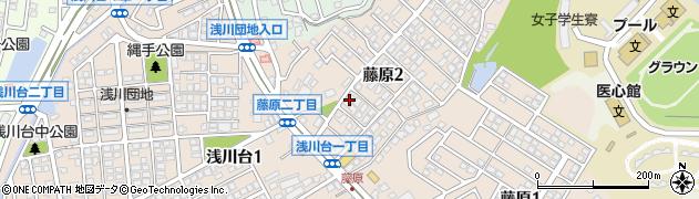 福岡県北九州市八幡西区藤原周辺の地図