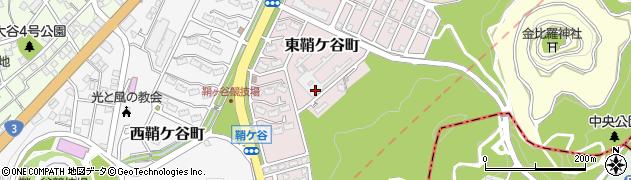 福岡県北九州市戸畑区東鞘ケ谷町周辺の地図
