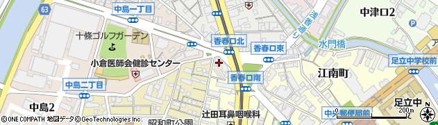 アップル不動産株式会社 小倉店周辺の地図