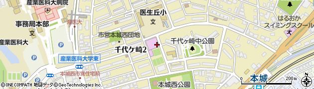 福岡県北九州市八幡西区千代ケ崎周辺の地図