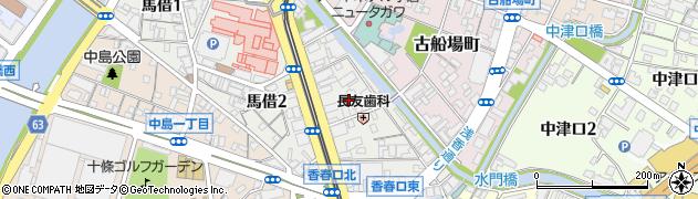 YANAGIHARAボクシング&フィットネスジム周辺の地図