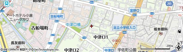 けんたくん小倉北店周辺の地図