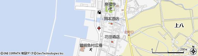 福岡県宗像市鐘崎北町周辺の地図