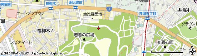 福岡県北九州市戸畑区金比羅町周辺の地図