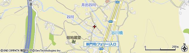 福岡県北九州市門司区畑周辺の地図