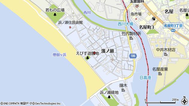 〒644-0042 和歌山県日高郡美浜町浜ノ瀬の地図