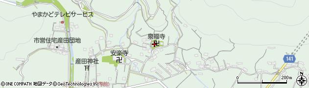 泉福寺周辺の地図