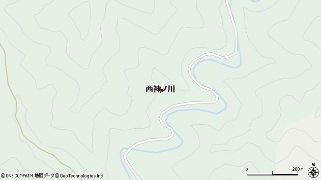 〒644-0213 和歌山県日高郡印南町西神ノ川の地図