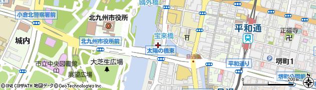 高島易断本部周辺の地図