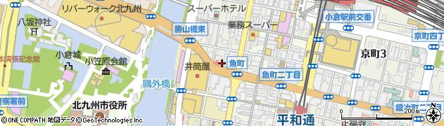 ティ-エヌ 小倉店周辺の地図