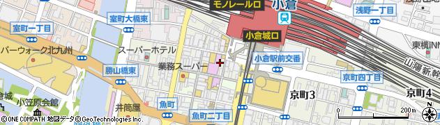 赤煉瓦館周辺の地図