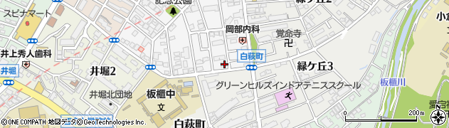 福岡県北九州市小倉北区高峰町12-30周辺の地図