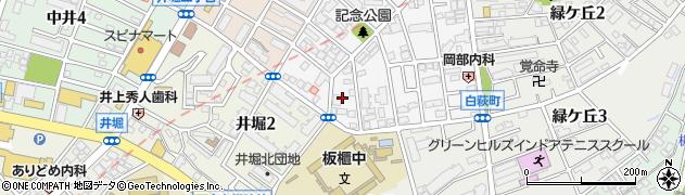 福岡県北九州市小倉北区高峰町17周辺の地図