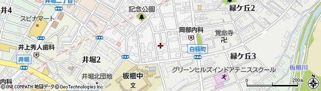 福岡県北九州市小倉北区高峰町13周辺の地図