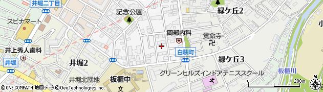 福岡県北九州市小倉北区高峰町12周辺の地図