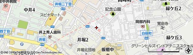 福岡県北九州市小倉北区高峰町18周辺の地図